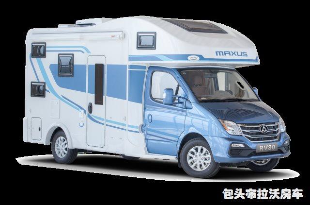 RV80 C型房车-纵床