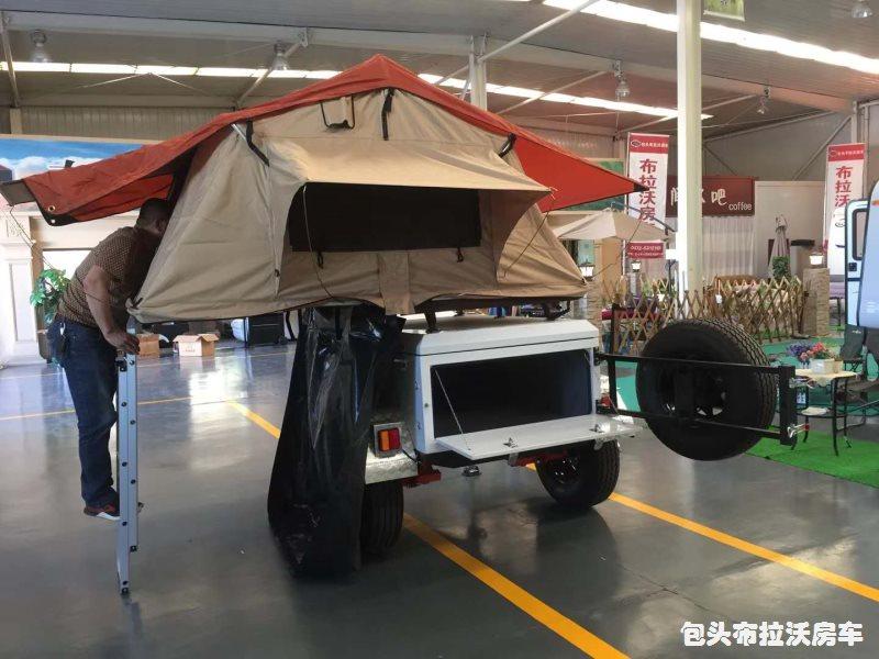 越野帐篷拖挂车